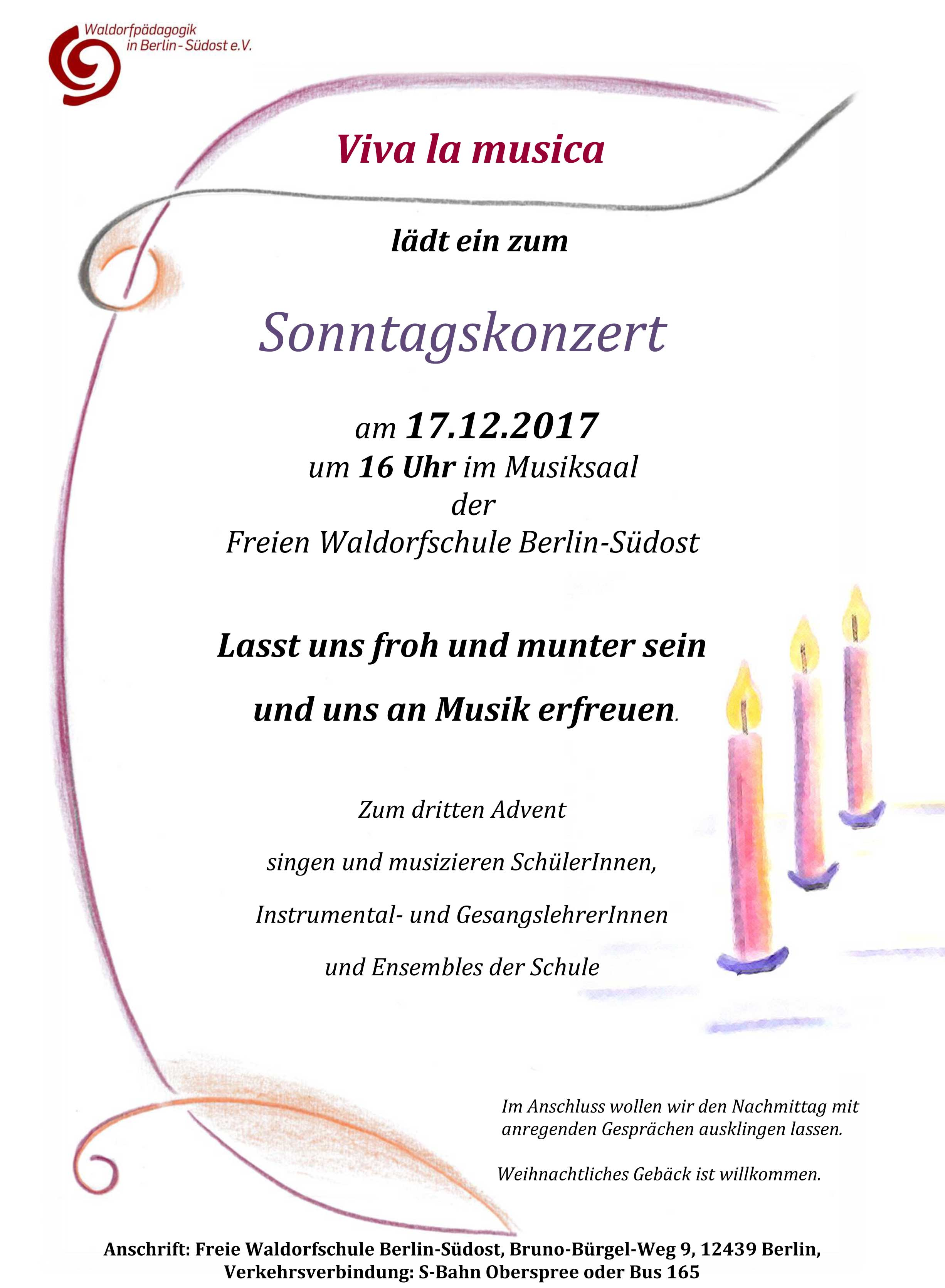 Konzert zum 3. Advent