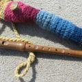 Stricken und Flöte